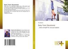 Daily Tonic Devotional kitap kapağı