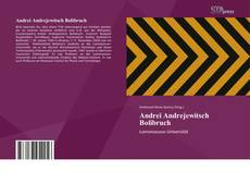 Bookcover of Andrei Andrejewitsch Bolibruch