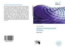 Bookcover of Andrei Andrejewitsch Koslow