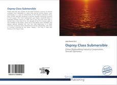 Capa do livro de Osprey Class Submersible
