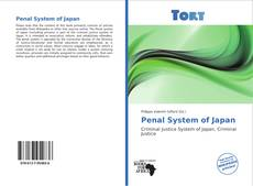 Bookcover of Penal System of Japan