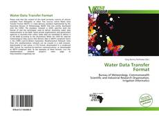 Portada del libro de Water Data Transfer Format