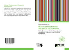 Bookcover of Water Environment Research Foundation