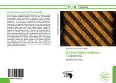 Copertina di Andrei Arsenjewitsch Tarkowski