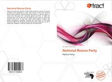 Bookcover of National Rescue Party