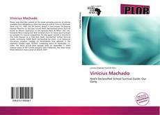 Capa do livro de Vinicius Machado