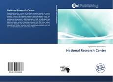 Bookcover of National Research Centre