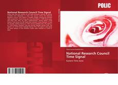 Bookcover of National Research Council Time Signal
