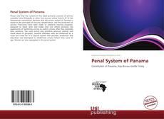 Capa do livro de Penal System of Panama