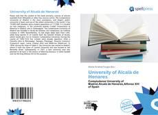 University of Alcalà de Henares的封面