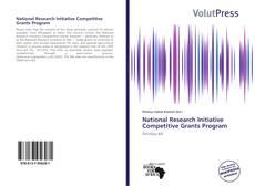 Capa do livro de National Research Initiative Competitive Grants Program