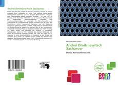 Capa do livro de Andrei Dmitrijewitsch Sacharow