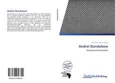Andrei Dundukow kitap kapağı