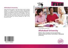 Bookcover of Allahabad University