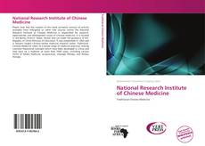 Buchcover von National Research Institute of Chinese Medicine