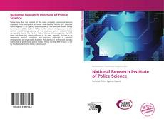 Buchcover von National Research Institute of Police Science