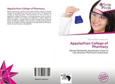 Bookcover of Appalachian College of Pharmacy