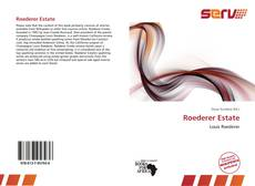 Bookcover of Roederer Estate