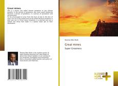 Couverture de Great mines
