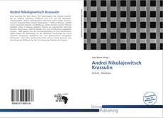 Обложка Andrei Nikolajewitsch Krassulin