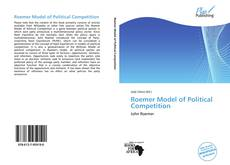 Copertina di Roemer Model of Political Competition