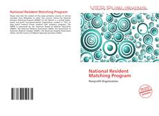 National Resident Matching Program的封面