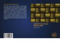 Buchcover von Andrei Petrowitsch Rjabuschkin