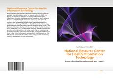 Bookcover of National Resource Center for Health Information Technology