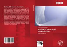 Bookcover of National Resources Commission