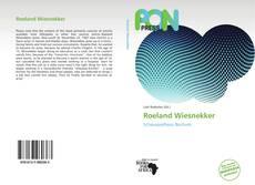 Buchcover von Roeland Wiesnekker