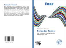 Bookcover of Pencader Tunnel