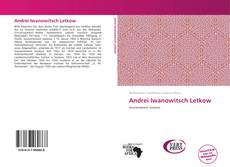 Bookcover of Andrei Iwanowitsch Letkow