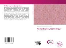 Capa do livro de Andrei Iwanowitsch Letkow