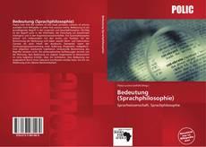 Borítókép a  Bedeutung (Sprachphilosophie) - hoz
