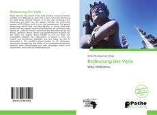 Portada del libro de Bedeutung des Veda