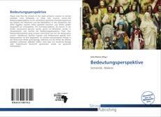 Portada del libro de Bedeutungsperspektive
