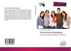 Couverture de University of Bamberg