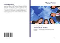 Couverture de University of Basrah