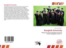 Bookcover of Bangkok University
