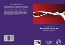 Bookcover of National Risk Register