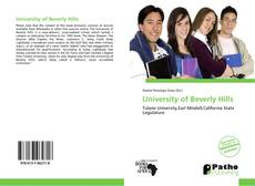 Portada del libro de University of Beverly Hills