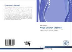 Capa do livro de Vinje Church (Hemne)