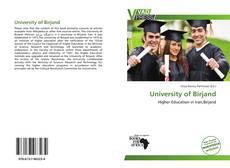 University of Birjand kitap kapağı