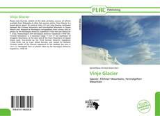 Copertina di Vinje Glacier