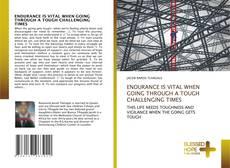 Buchcover von ENDURANCE IS VITAL WHEN GOING THROUGH A TOUGH CHALLENGING TIMES