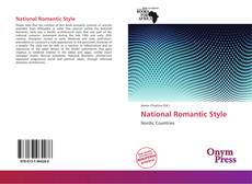 Bookcover of National Romantic Style