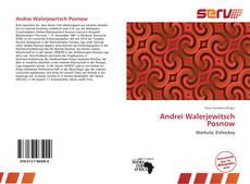 Bookcover of Andrei Walerjewitsch Posnow