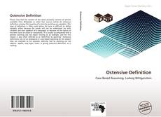 Bookcover of Ostensive Definition