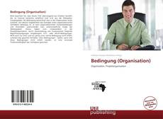 Bookcover of Bedingung (Organisation)