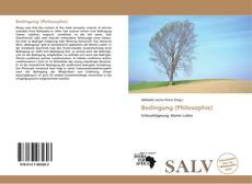 Buchcover von Bedingung (Philosophie)